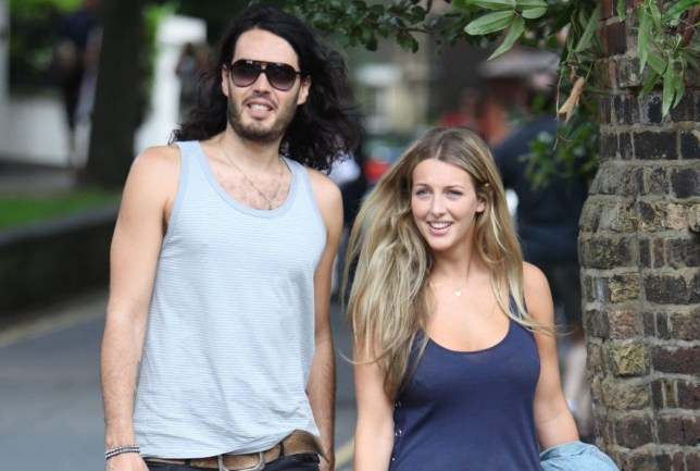 Russell Brand is spotted walking with Laura Gallagher, prompting speculation they have rekindled their romance. The pair, who called off their relationship in 2007, visited shops in Hampstead before returning to his house. The 21 year old is the daughter of golf legend Bernard and sister of TV presenter Kirsty GallaghernLondon, England 09.08.09nMandatory Credit: WENN.com