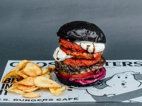 A Japanese restaurant is now selling a seriously spooky Ghostbusters menu