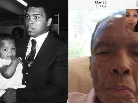 Muhammad Ali's daughter releases last picture of her father