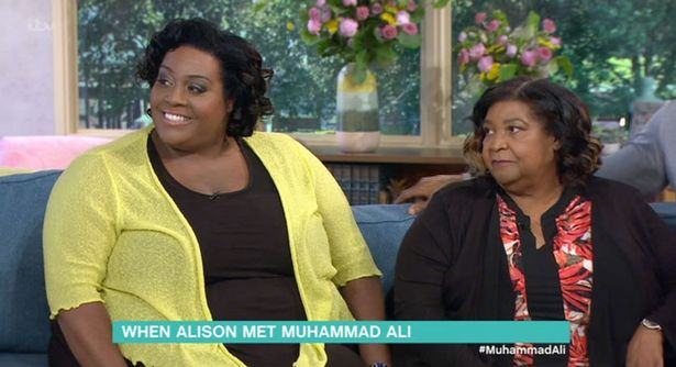 This Morning's Alison Hammond claims Muhammad Ali was besotted by her