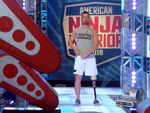 WATCH: One-legged former WWE wrestler competes on American Ninja Warrior and it's incredible