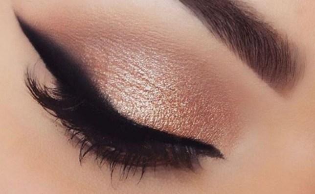 blurred eyeliner