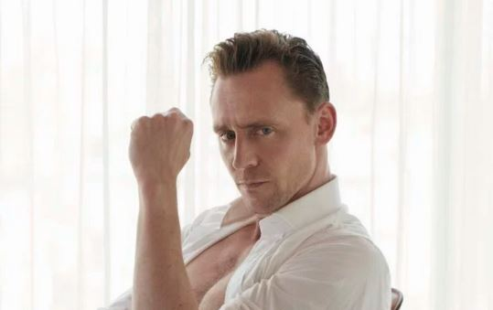 Taylor Swift's new boyfriend Tom Hiddleston strips off to his underwear in W Magazine photoshoot