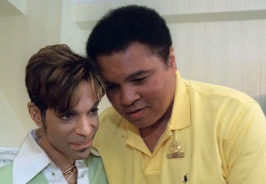 WATCH: Prince met his childhood hero Muhammad Ali and it was the sweetest