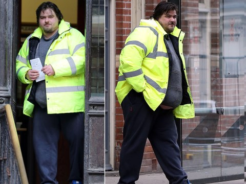 This drink driver claimed he was too fat for court