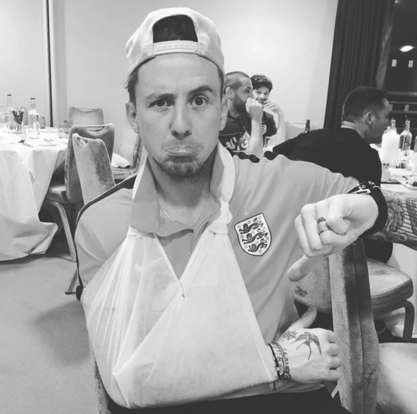McFly's Danny Jones fractures elbow and is forced to pull out of Soccer Aid 2016