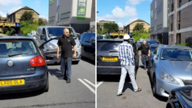 Driver in Hackney shouts go back to your country