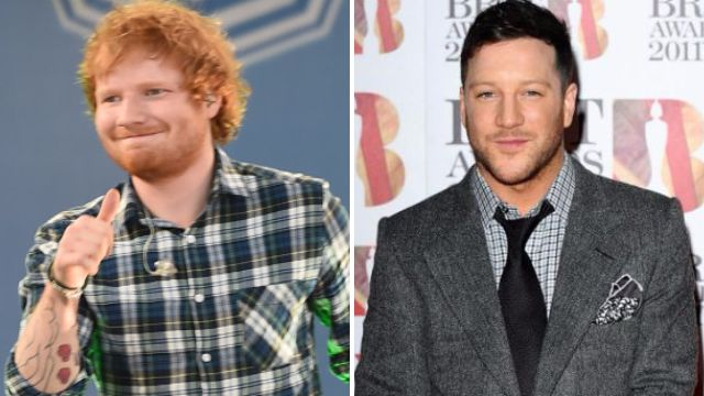 Ed Sheeran and Matt Cardle split