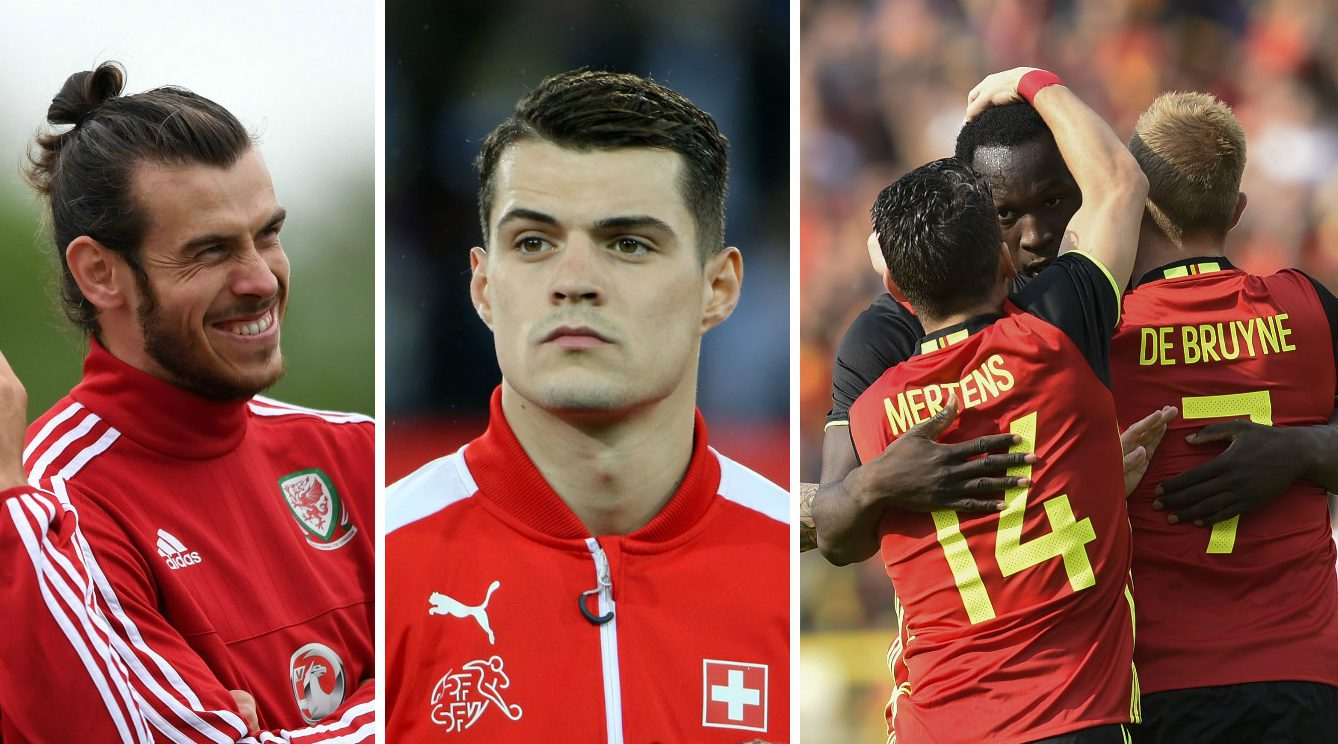 Euro 2016 dark horses, featuring Gareth Bale's Wales and star-studded Belgium side