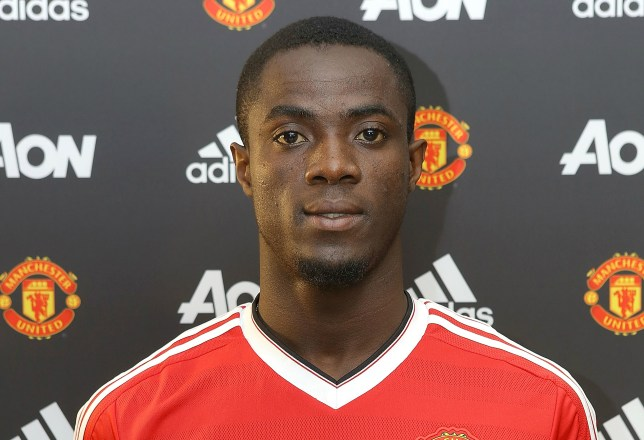 Eric Bailly wears the Manchester United shirt after signing for the club (Picture: Getty Images)