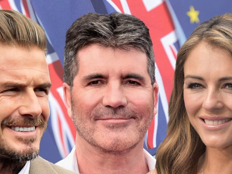 From David Beckham to Elizabeth Hurley: This is how 86 celebrities are voting in the EU referendum