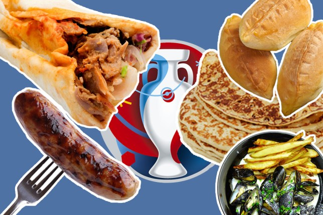 These are the national dishes for each of the countries playing in Euro 2016
