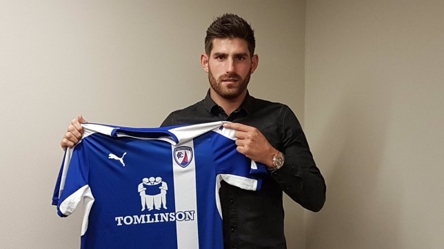 Evans signed a one-year deal with Chesterfield earlier this week. (Picture: Twitter)