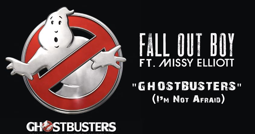 There's been a hugely mixed reaction to Fall Out Boy and Missy Elliott's new Ghostbusters theme