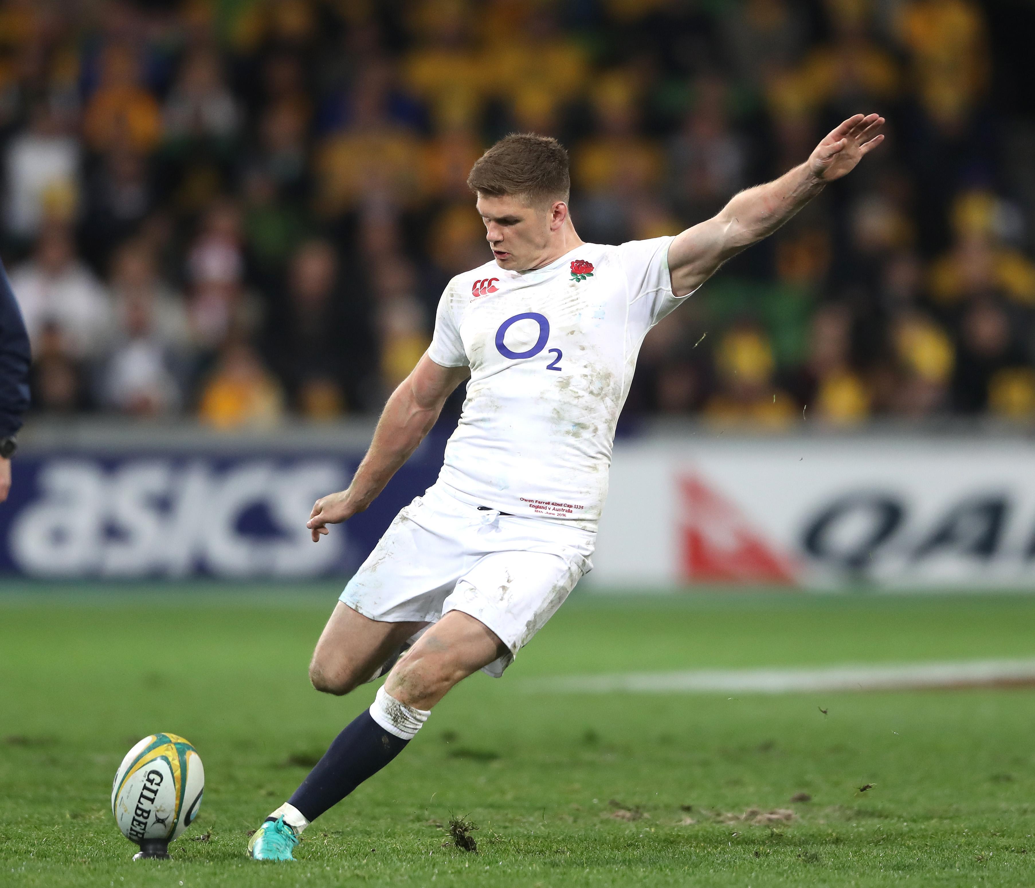 Australia 7-23 England: Owen Farrell helps secure historic series win