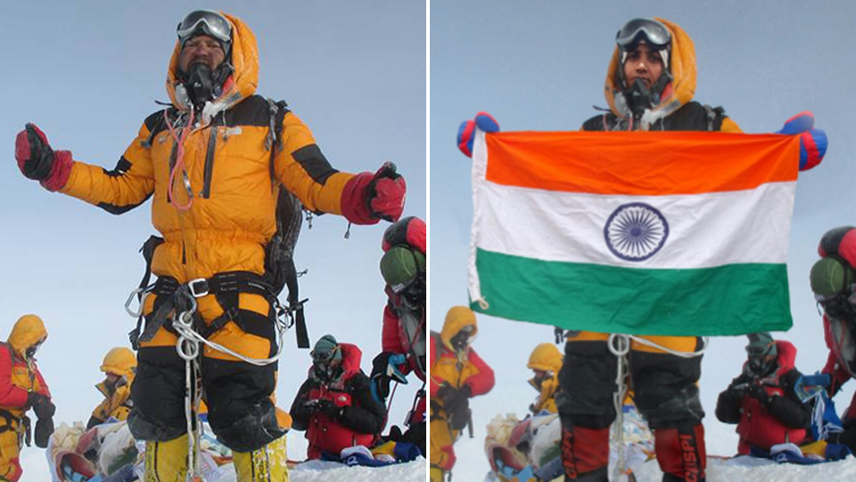 'First Indian couple to climb Everest' accused of stealing photos to fake it