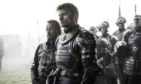 Jaime confronts the Blackfish in the latest episode (Picture: HBO)