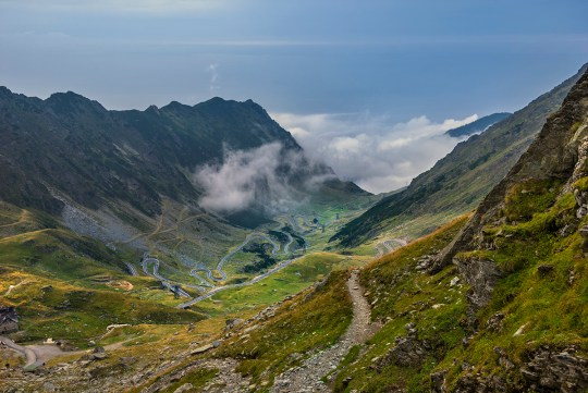 6 roads around Europe that you have to drive along Romania - Transfăgărășan Highway Credit: Getty Images
