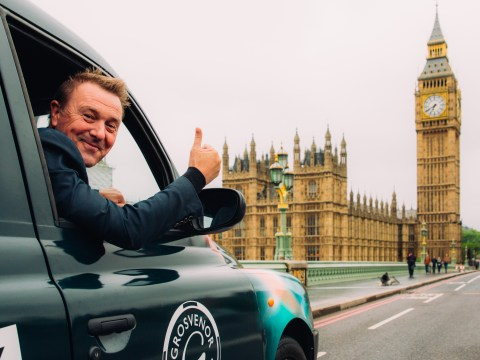 Take a ride inside the world's smallest travelling casino in a London cab