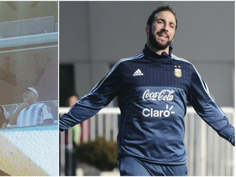 There has been no contact with Liverpool over Gonzalo Higuain, says agent