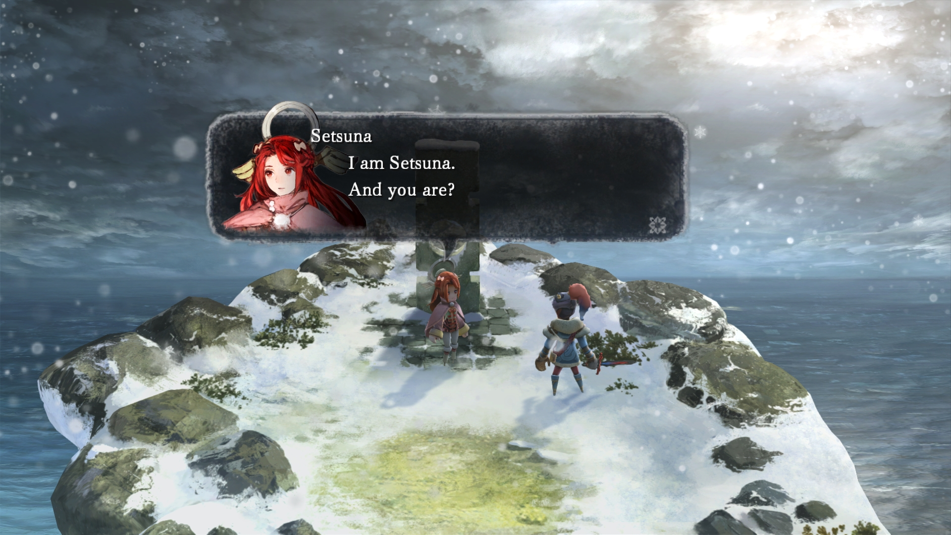 I Am Setsuna - old school JRPG with a new twist