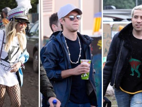 Niall Horan, Nick Grimshaw and Rita Ora are just some of the celebrities at Glastonbury 2016