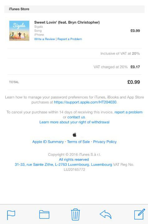 Here's how to tell if your iTunes invoice is a scam | Metro News