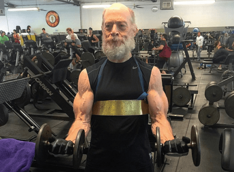 JK Simmons responds to those viral photos of him looking stacked at the gym