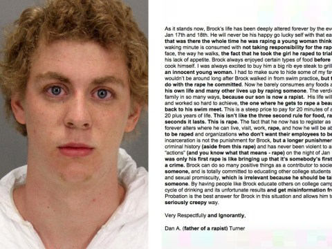 Someone finally 'fixed' that letter written by the Stanford rapist's father