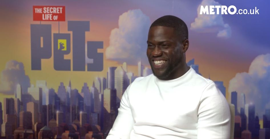 WATCH: Kevin Hart plays puppy vs bagel – can he tell the difference between a dog and a baked good?