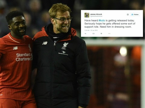 Heartbroken Liverpool fans call for Kolo Toure to be given coaching role after release from club