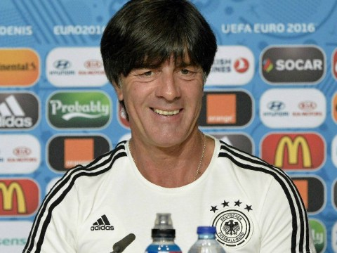 Germany boss Joachim Low publicly apologises for ball-fondling antics at Euro 2016