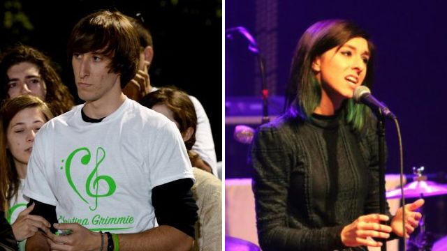 Christina Grimmie's brother gives emotional speech at candlelit vigil