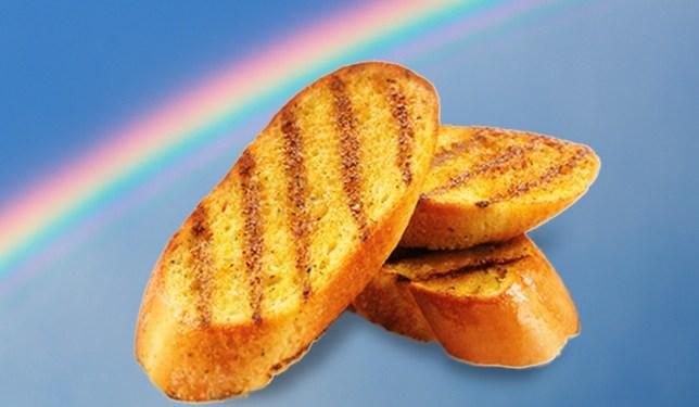 Garlic bread Credit: Getty