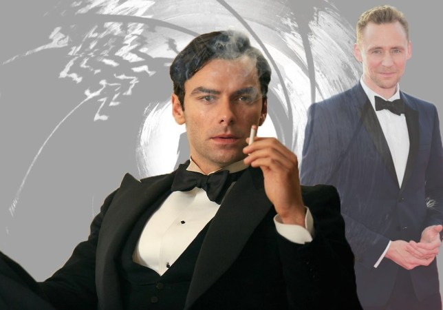 The next bond will be announced next week as Aidan Turner heads back into the lead Credit: BBC/ PA/ Rex