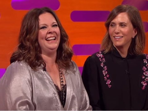 WATCH: Melissa McCarthy and Kristen Wiig sing the Ghostbusters theme 'folk lady' style