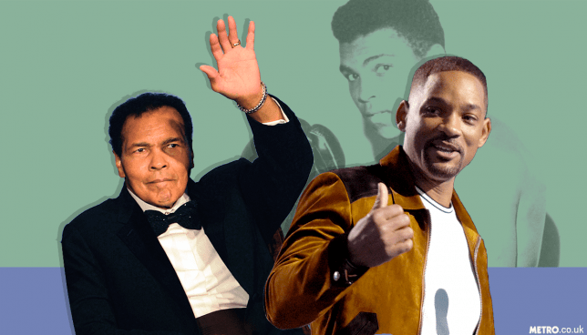 Muhammad Ali and Will Smith were good friends (Picture: Getty Images/ METRO/Mylo)