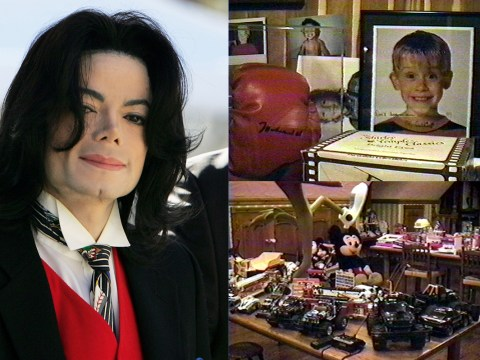 Inside Michael Jackson's secret closet