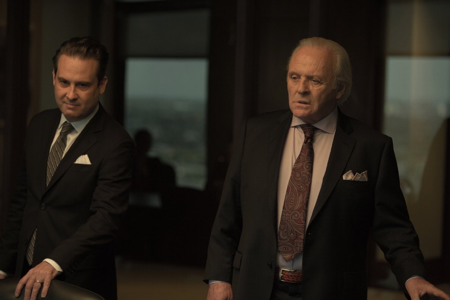 Al Pacino and Anthony Hopkins' new movie Misconduct made just £97 in UK cinemas