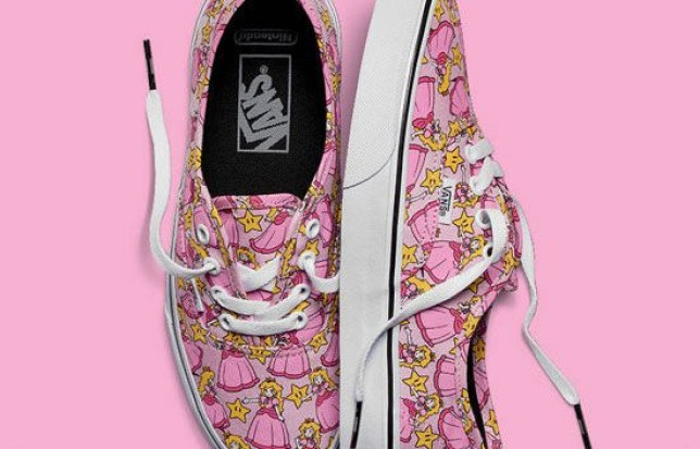 ca422347db Vans Nintendo collection  The trainers and clothing of your ...