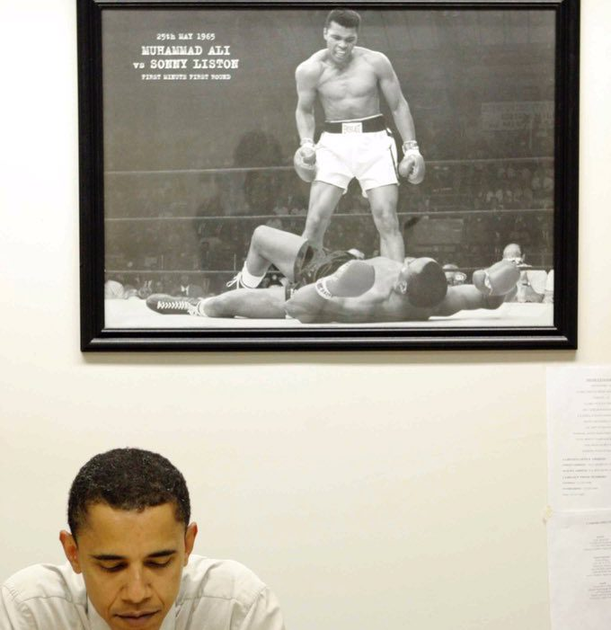 'We are fortunate the Greatest chose to grace our time': Obama's powerful tribute to Muhammad Ali