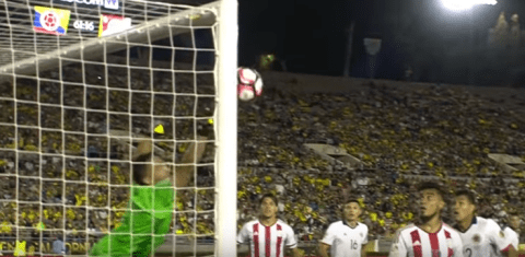 Video: Arsenal's David Ospina makes superb save for Colombia vs Paraguay