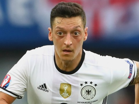 The stat that proves Arsenal star Mesut Ozil isn't a defensive liability