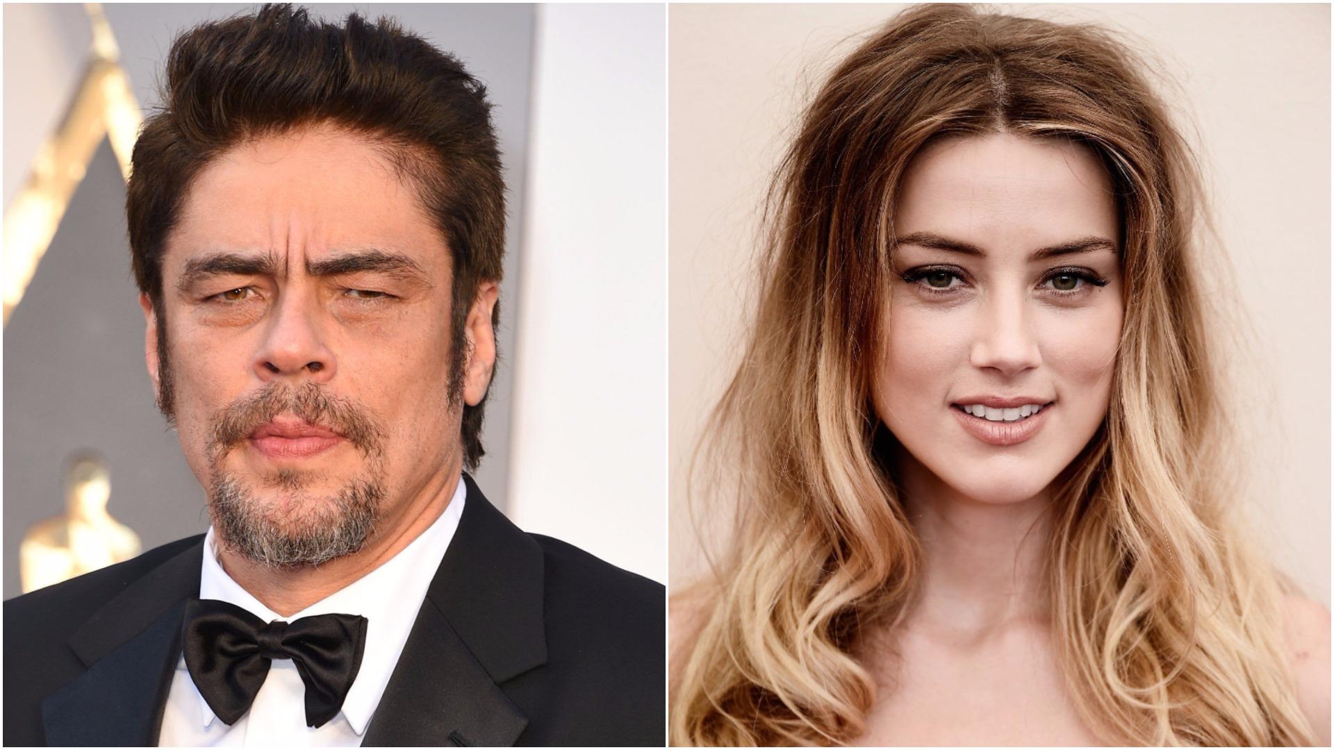 Benicio del Toro has said some shocking things about Amber Heard