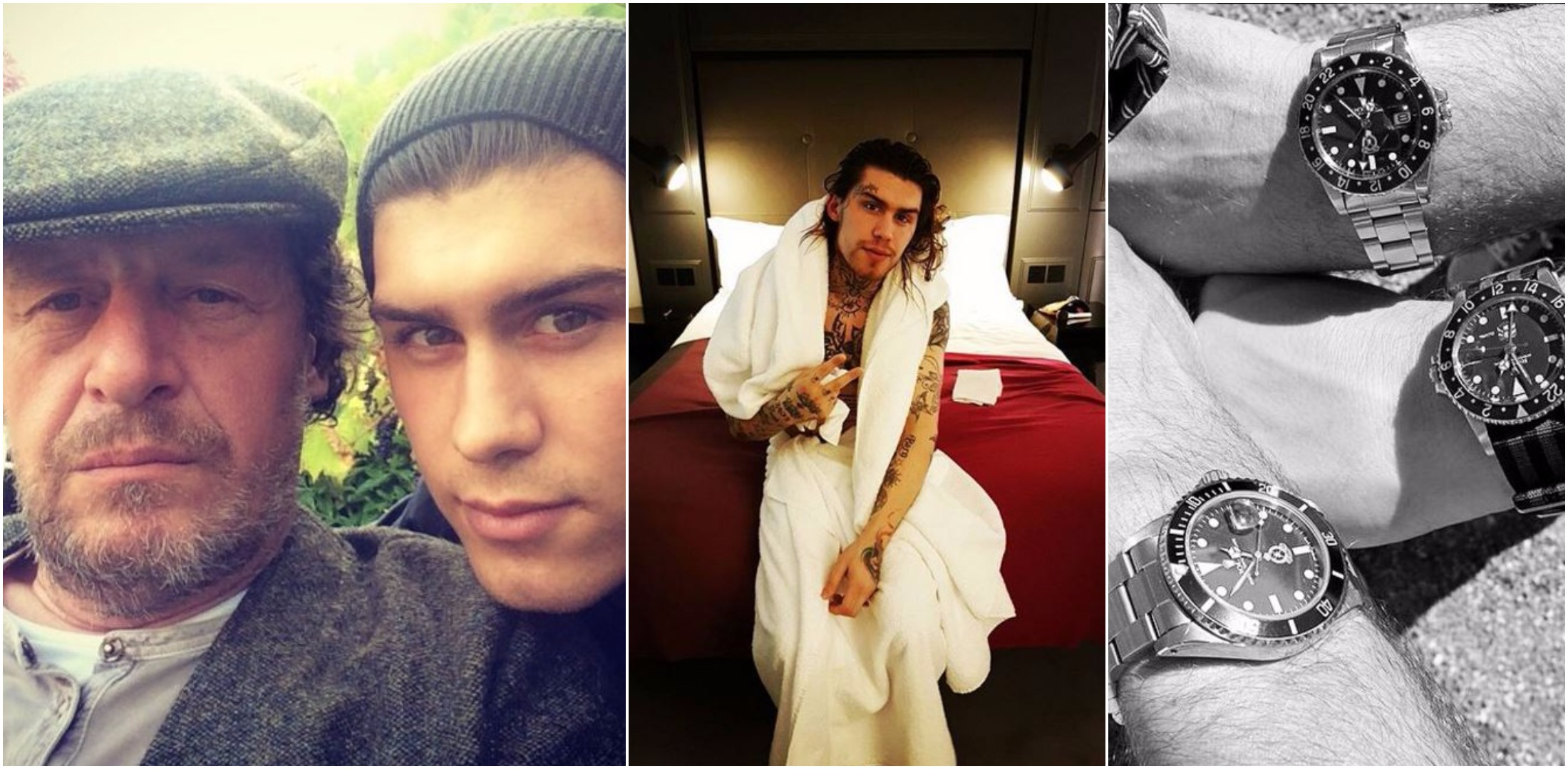 Big Brother star Marco Pierre White Jr. is basically a Rich Kid of Instagram