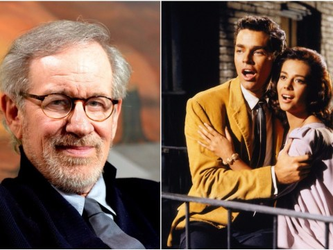 West Side Story is being remade by Steven Spielberg and he feels pretty happy about it