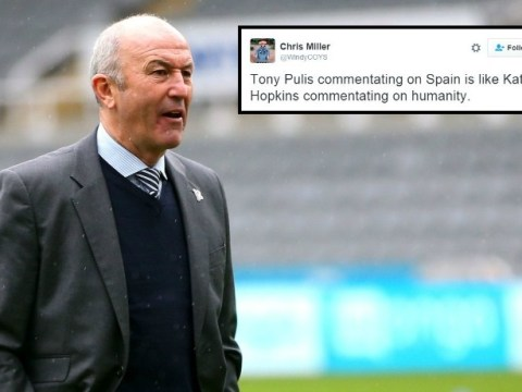 Tony Pulis commentating for ITV on Spain v Turkey leaves Twitter users puzzled