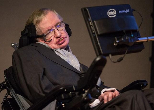 Mandatory Credit: Photo by James Gourley/REX/Shutterstock (5494560a) Professor Stephen Hawking STARMUS medal launch, The Royal Society, London, Britain - 16 Dec 2015