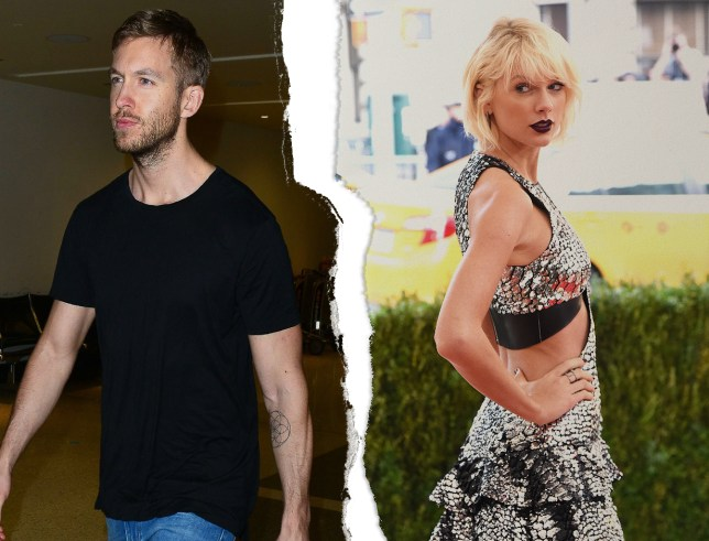 Calvin Harris and Taylor Swift split earlier this month (Picture: REX/METRO/Mylo)