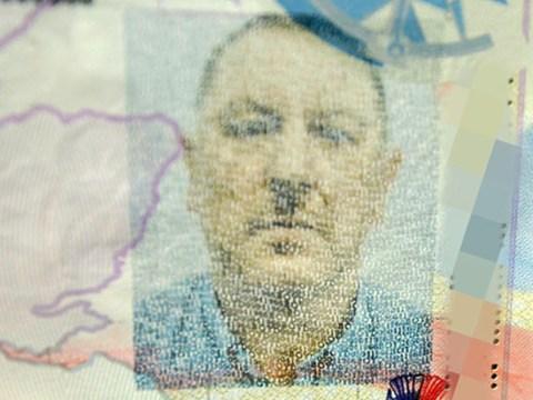 Passport photo makes man look like Adolf Hitler